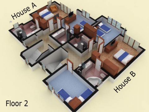 House type 1 | floor 2 | Sozopolis