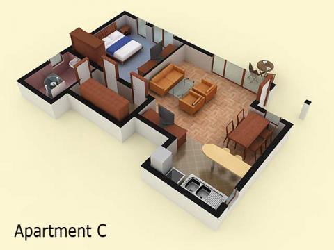 House type 2 | apartment - ground floor | Sozopolis