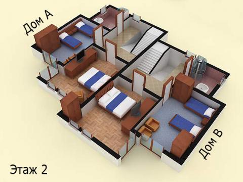 Дом типа 2 | Этаж 2 | Созополис