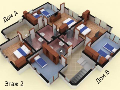 Дом типа 7 | Этаж 2 | Созополис