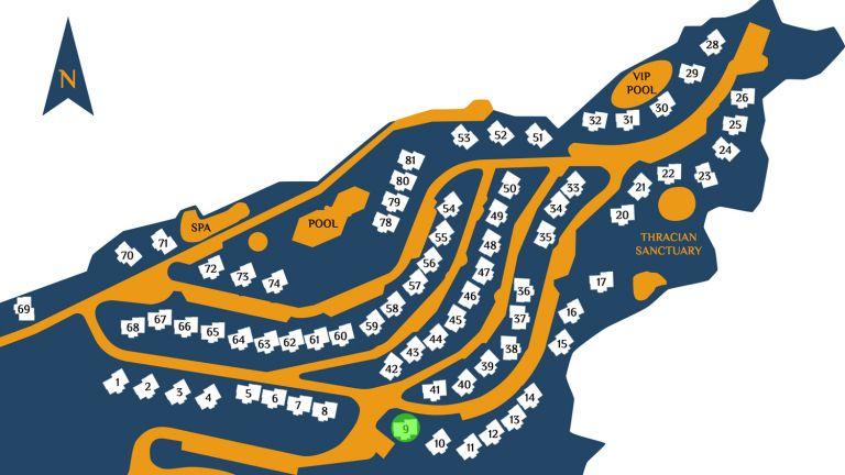 Разположение на имота в комплекс Созополис